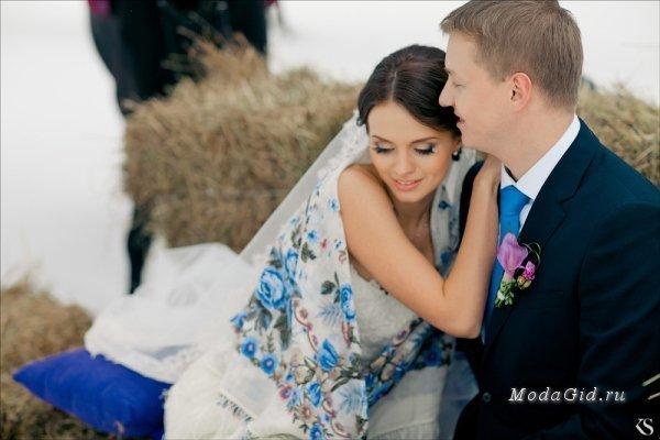 Свадебная мода: Идеи для зимней свадебной фотосессии