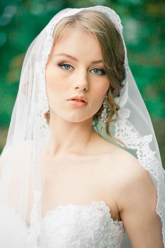 свадебные прически и макияж лето 2013