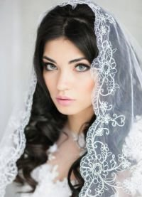 Свадебный макияж для брюнеток 3
