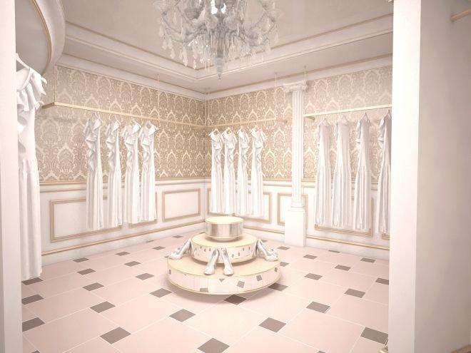 Свадебный салон, г. Нижний Тагил - Интерьеры и архитектурные решения