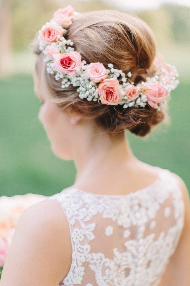 Украшение для волос в цвете Rose Quartz