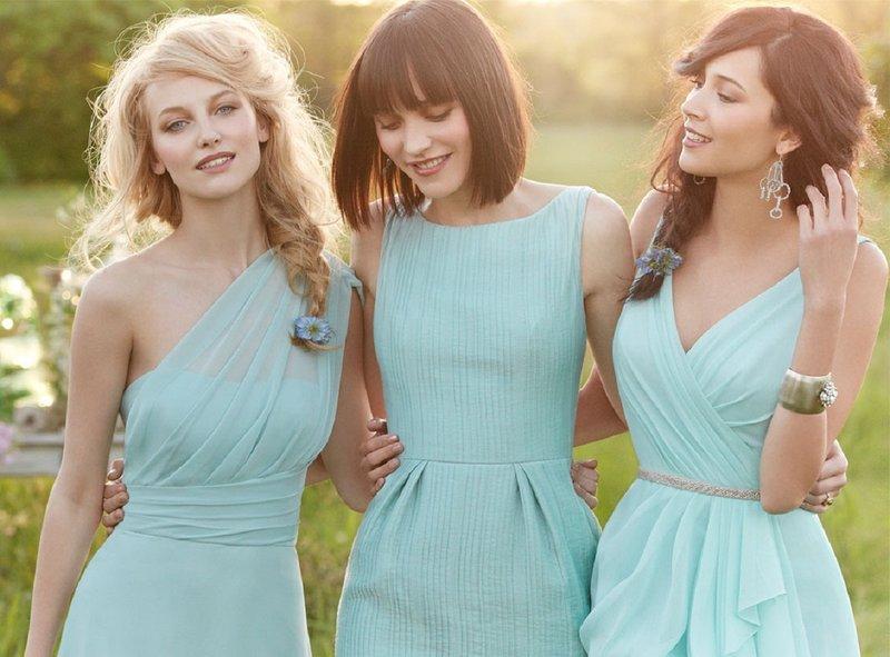 выбрать платье для подружки невесты - не легко