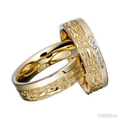 Желтое золото 585° 7 бриллиантов 0.10ct