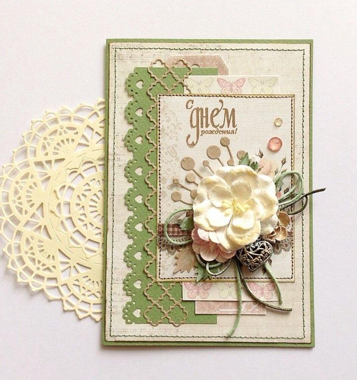 Подарить, красивая открытка на юбилей своими руками
