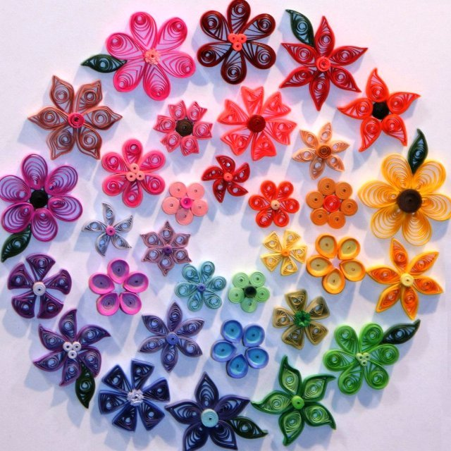 Гимнастика для, цветы для украшения открыток своими руками