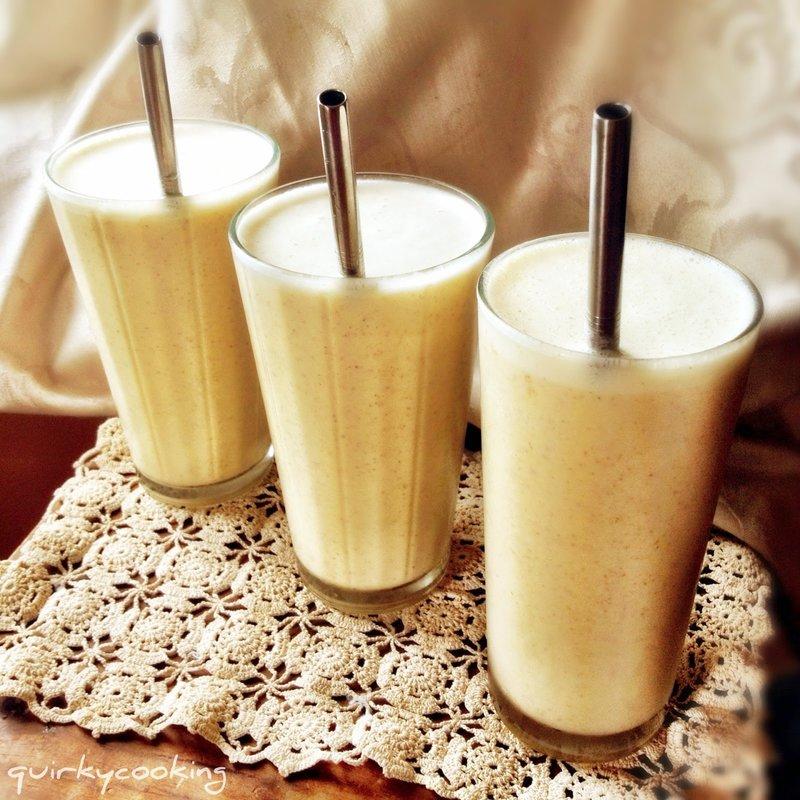 Протеиновый коктейль из банана