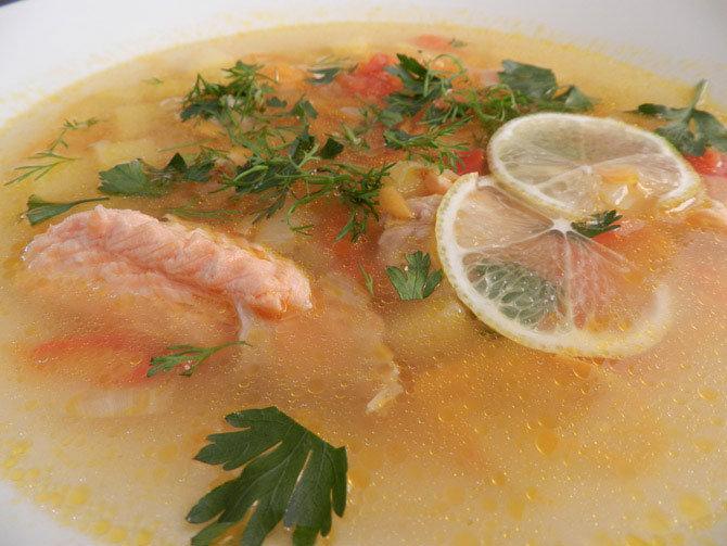 Приготовить рыбный суп из красной