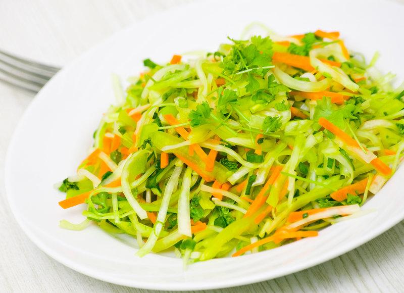 Простые рецепты из белокочанной капусты