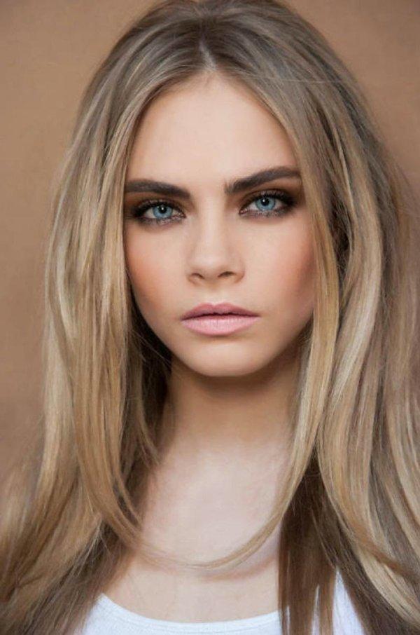 красивый пепельный цвет волос фото