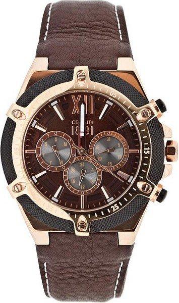 Мужские часы Cerruti 1881 CRA036SRB12BR Женские часы Rhythm L1203S02