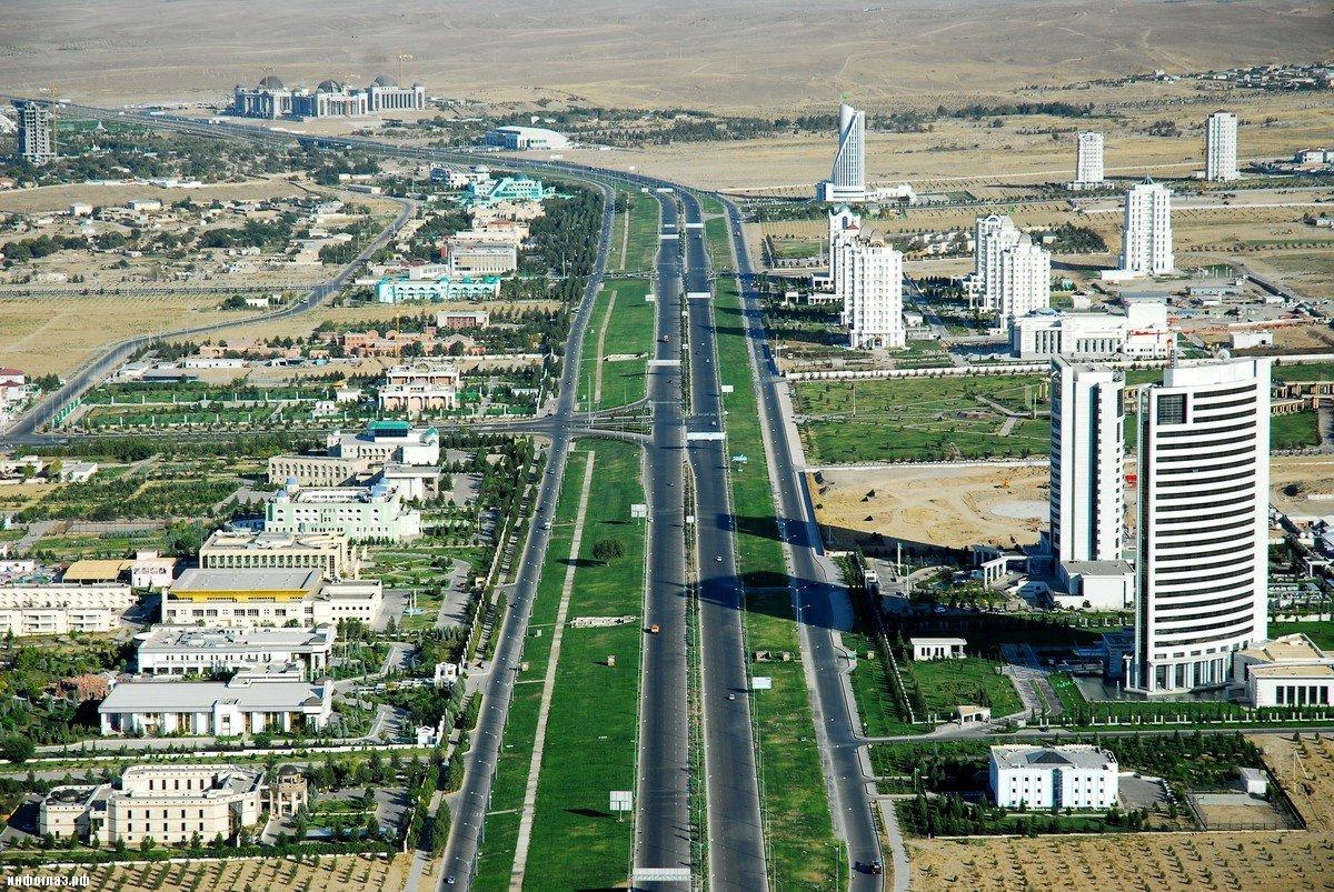 поселок шатлык туркмения фото