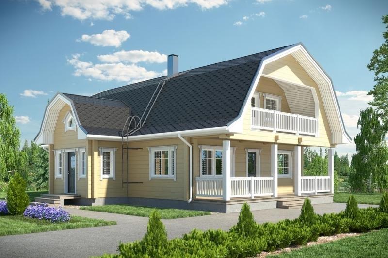 Мансардная крыша. строительство мансардной крыши от стройваш.