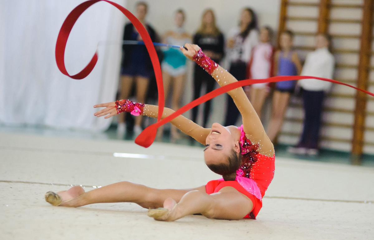 как гимнастки любят показывать буду