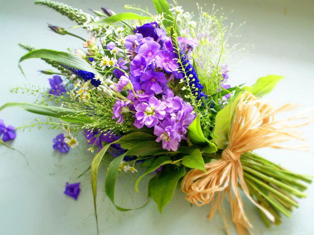 Цифра, картинка с днем рождения полевые цветы