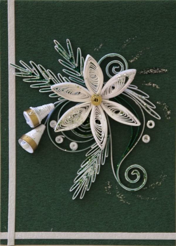 Открытки новым годом квиллинг, открытки