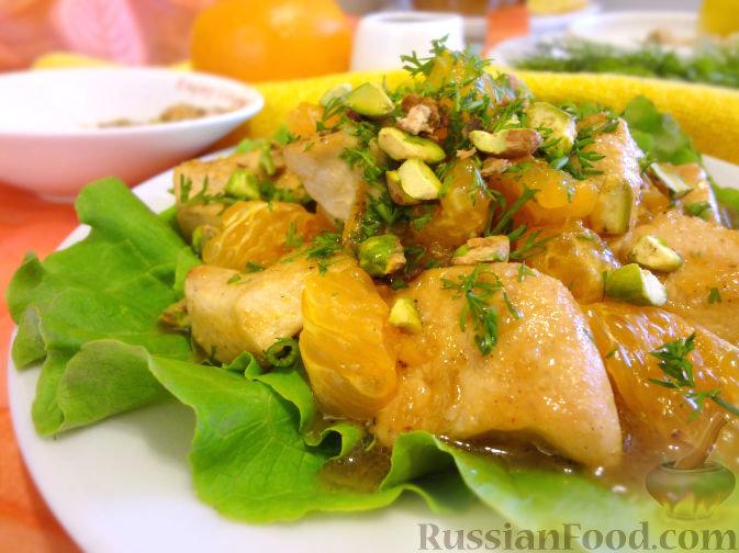 Праздничные мясные салаты рецепты 5