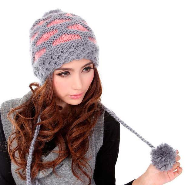 109 Связать женскую шапку для осени