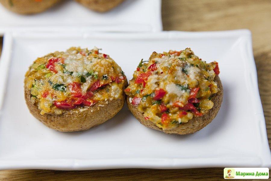 горячие закуски из овощей грибов и сыра