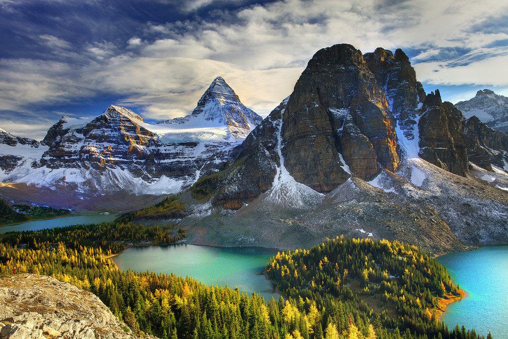 Красивая картинка канады