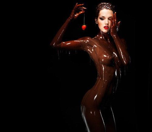 испытания голые дамы в шоколаде домашних