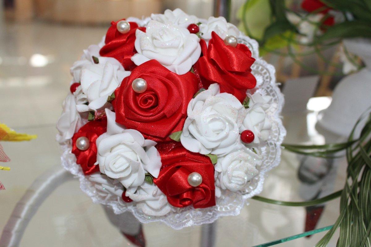 Свадебный букет дублер из фоамирана, букет тюльпанов букеты