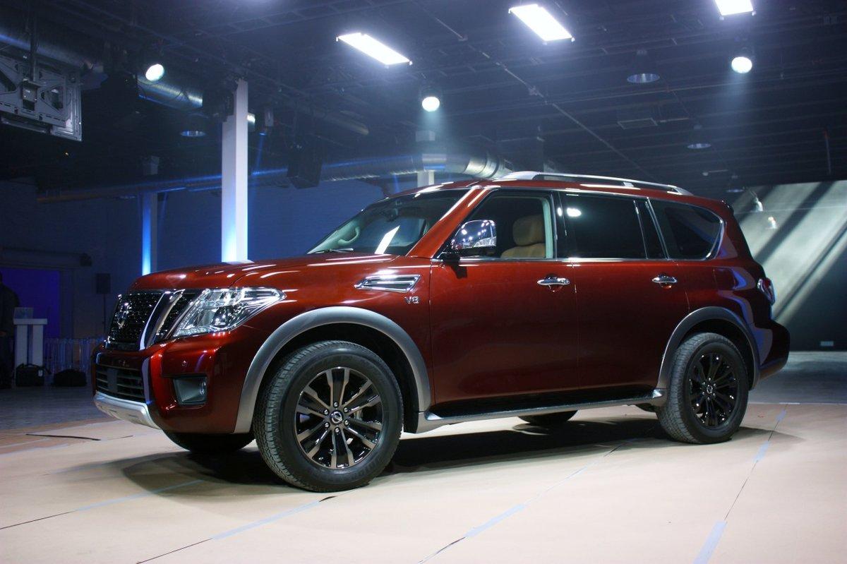 На проÑодящем автосалоне в Чикаго 2016, Nissan представил обновленную версию внедорожника 2017 Armad