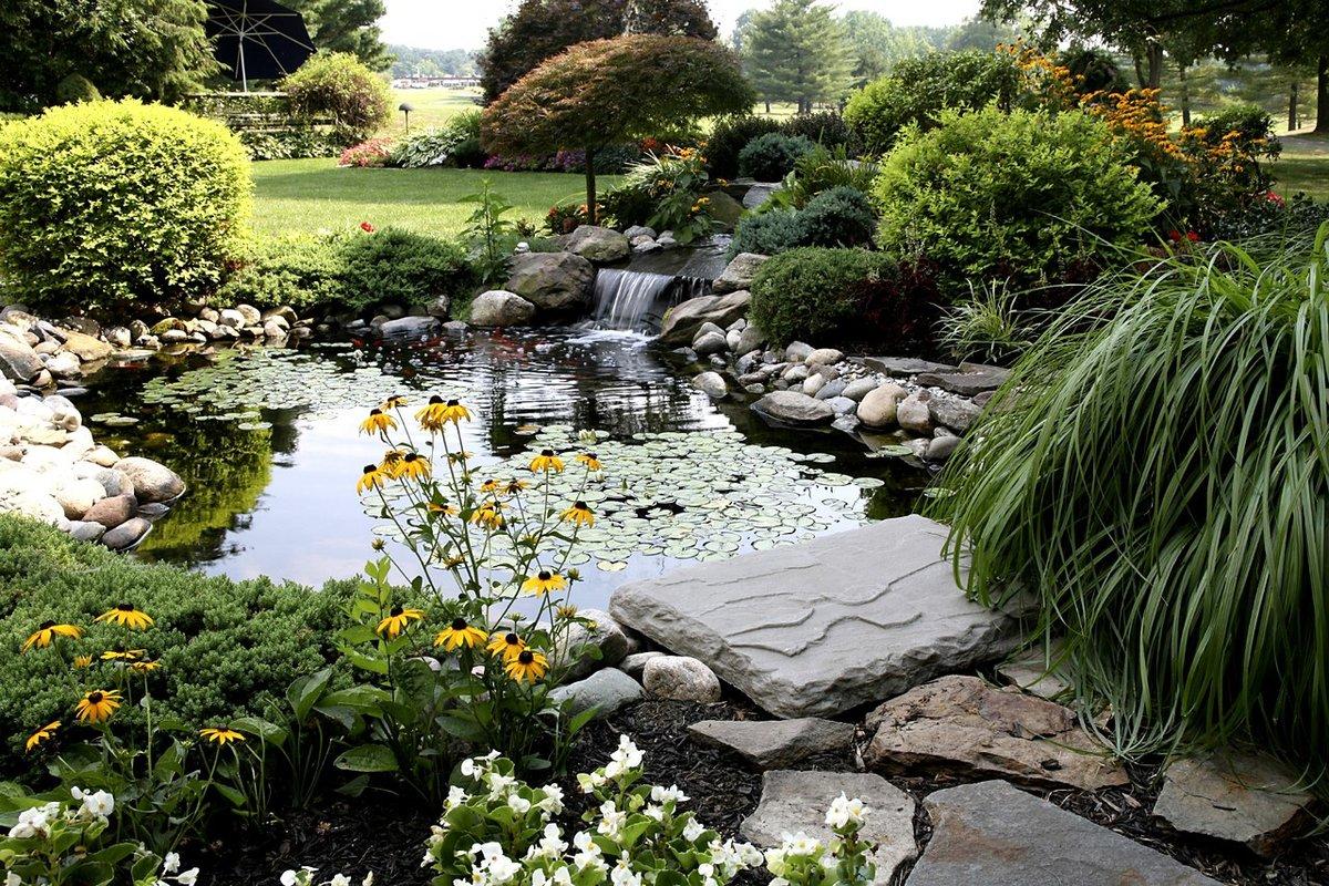 пейзажный стиль в ландшафтном дизайне фото заключаются хозяйствующими