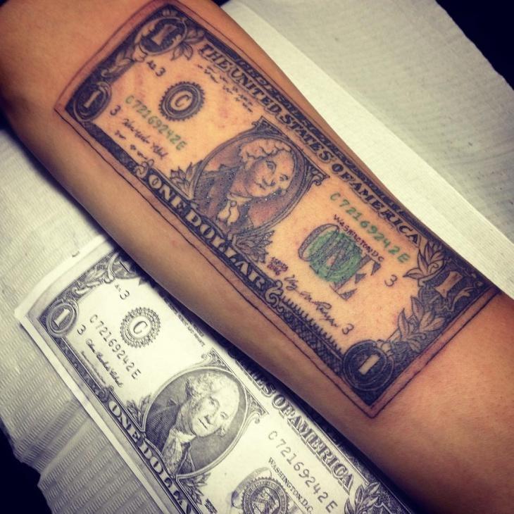 доллар тату фото значение крутые красивые куколки