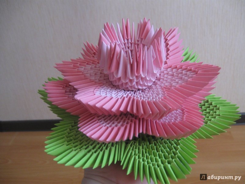 Модульного оригами знакомство начало