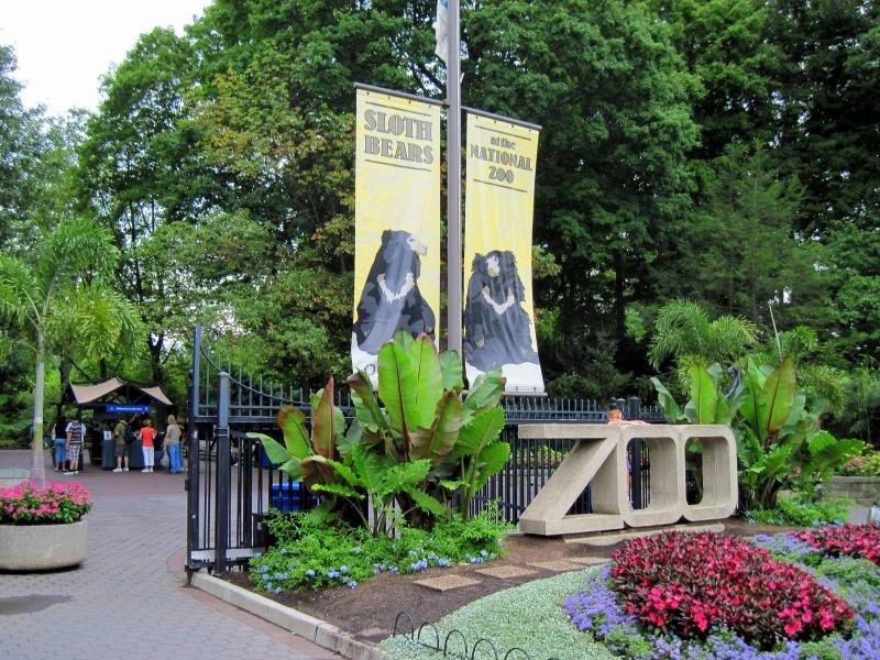 Смитсоновский национальный зоологический парк в Вашингтоне