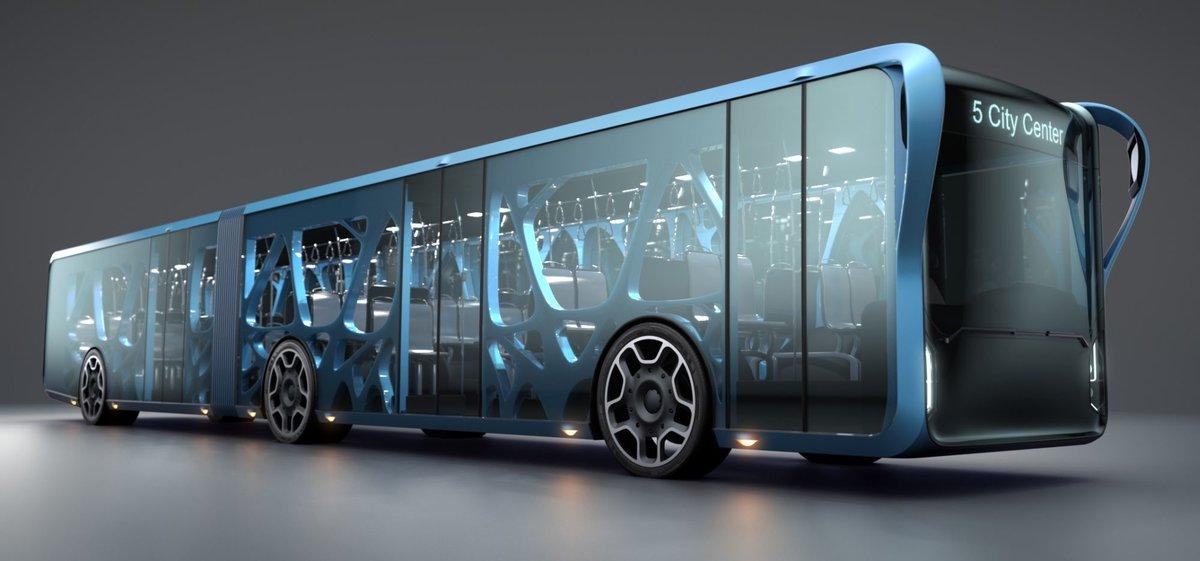 концепт автобус будущего