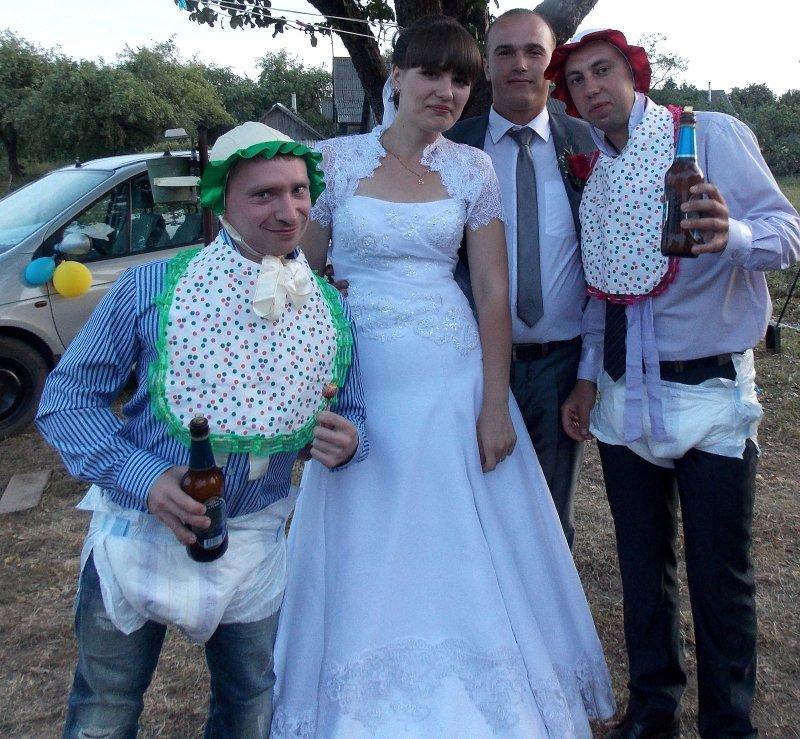 Деревенская свадьба фото приколы