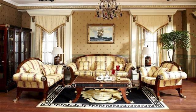 Элитные ковры, выполненные в стиле ампир.