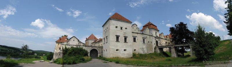 Свиржский замок, XV век (вид с юга)