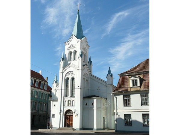 Церковь Скорбящей Богоматери, Рига, Латвия