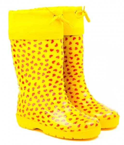 Желтые сапоги картинка