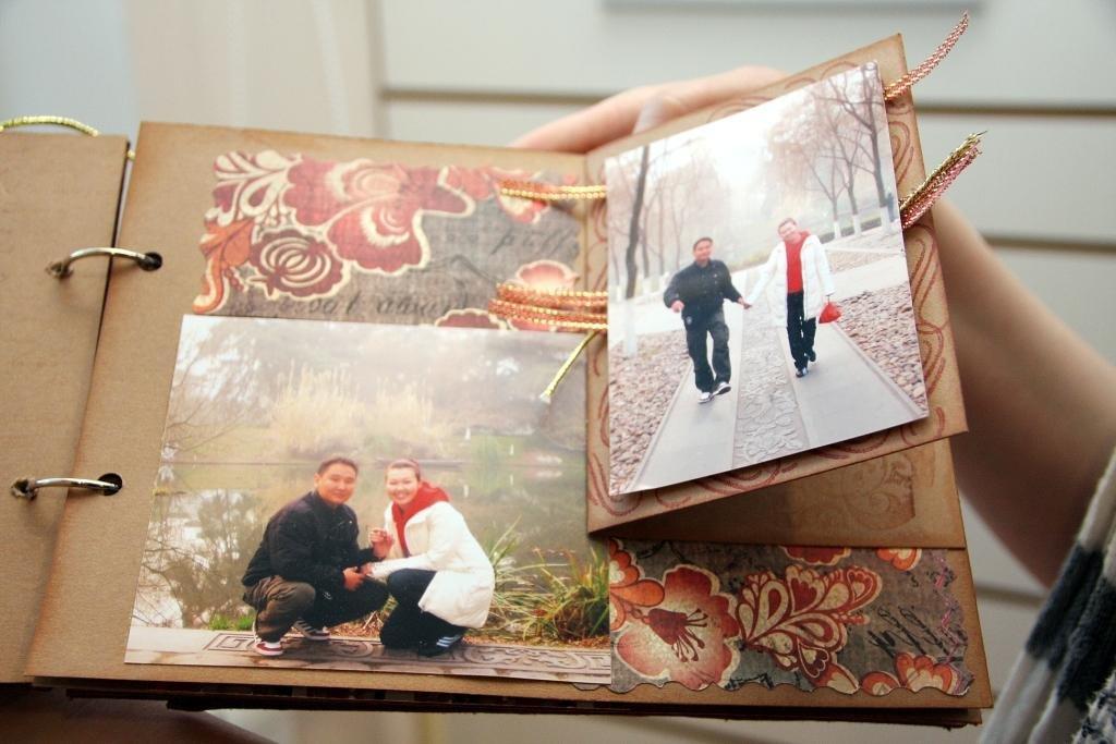 Идея открытки с фотографиями