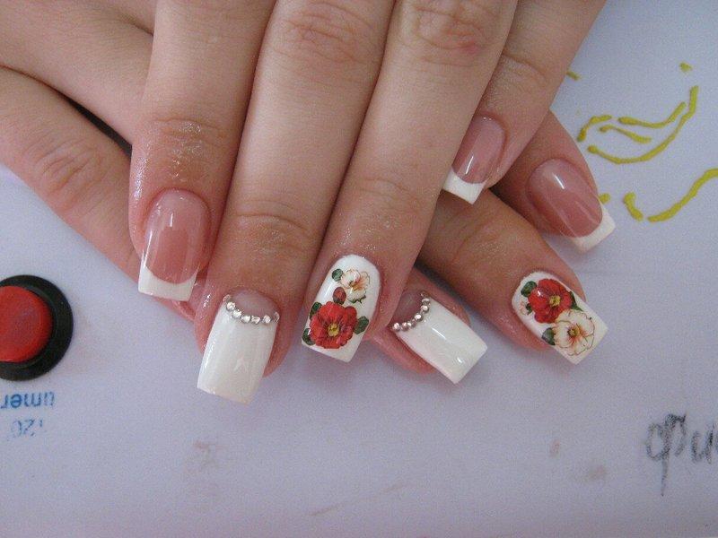 Фото ногти с маками