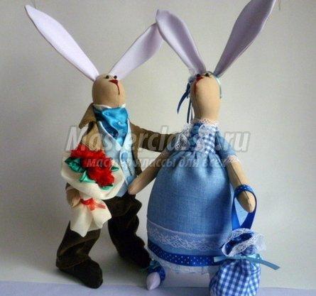 Кролики тильда пара