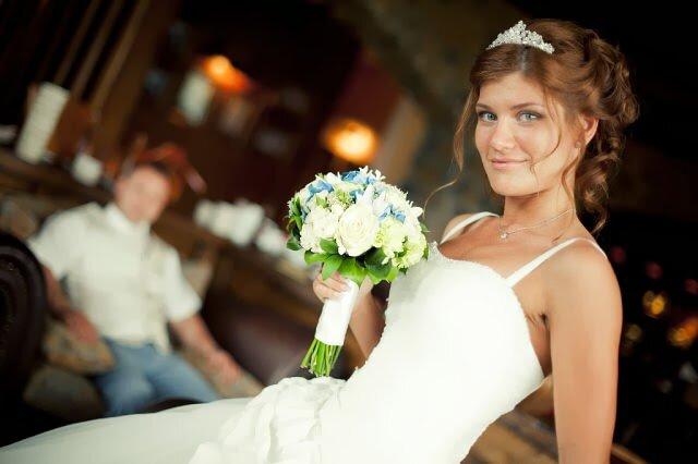 У невесты