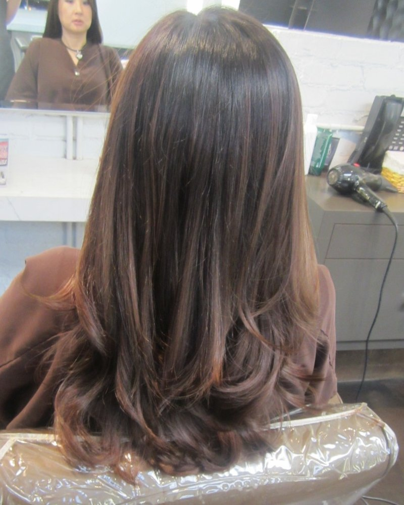 Пепельно-коричневые волосы