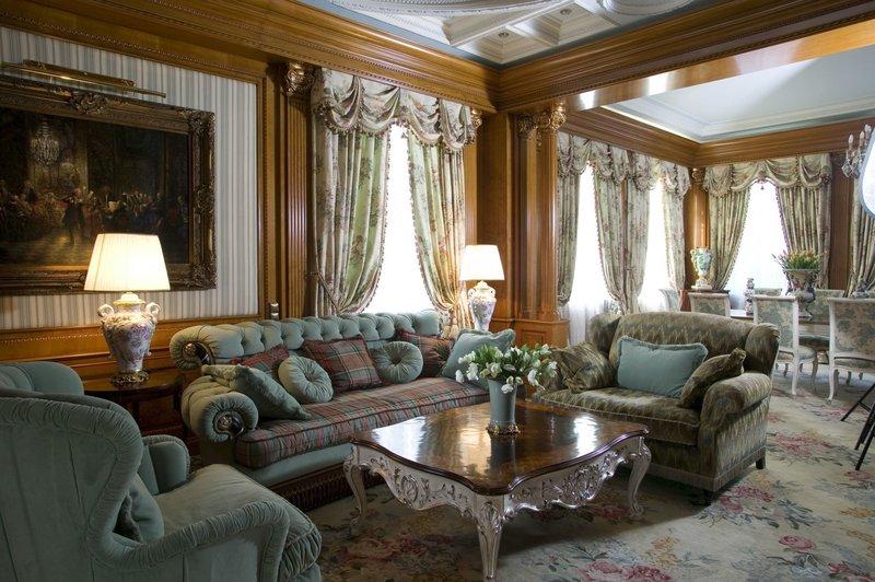 Шторы в викторианском стиле: роскошь и сдержанность - Арт...