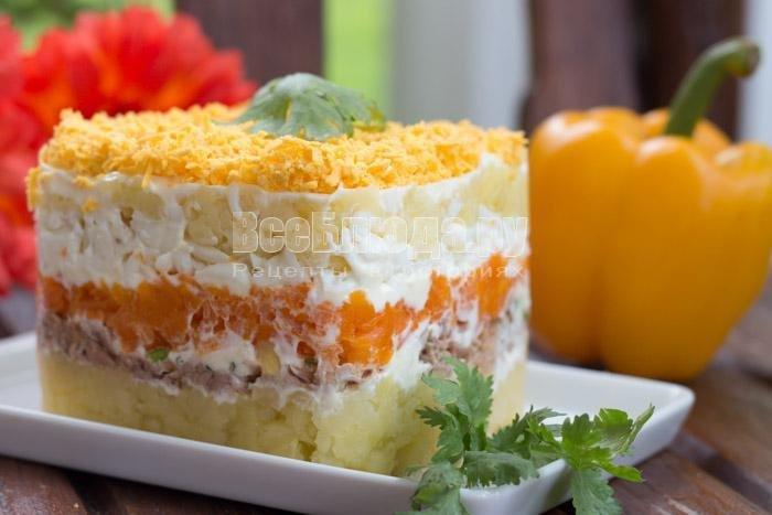 Салат мимоза секреты приготовления