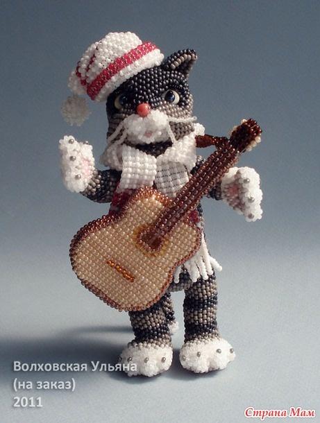 Картинки котов с гитарой
