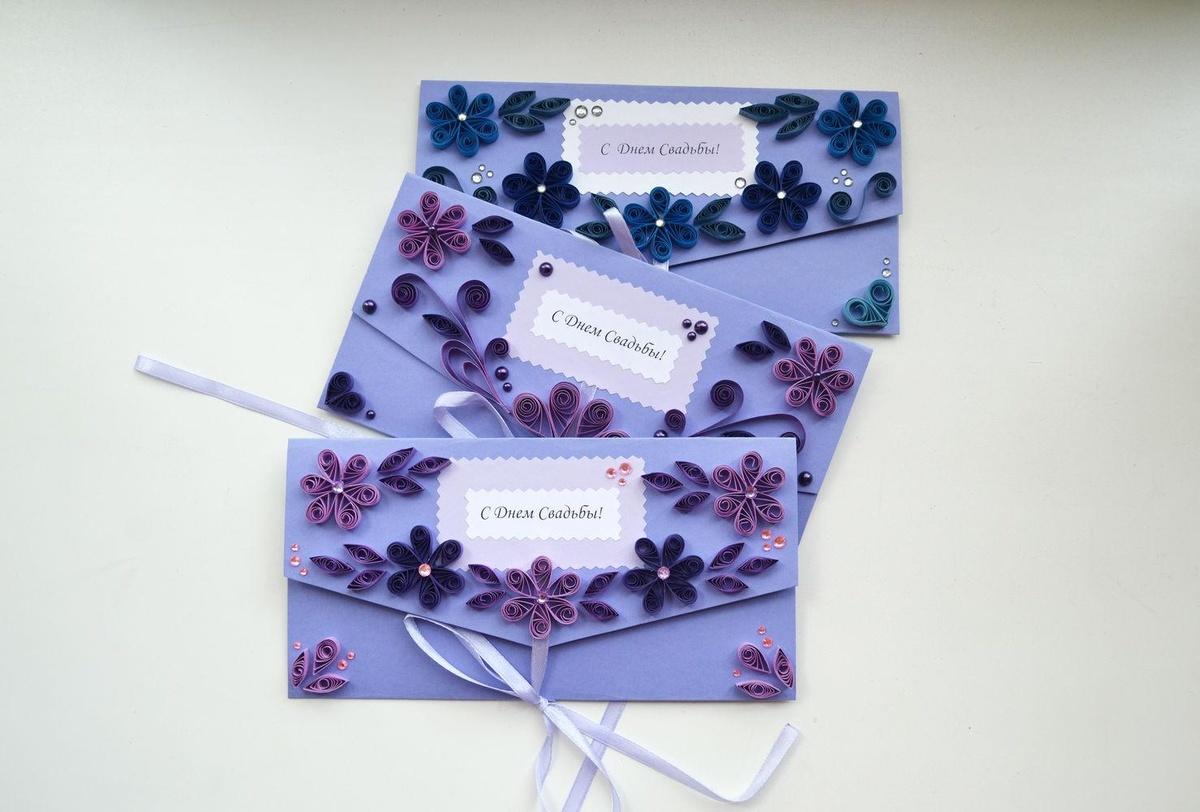 Живые, простые открытки и конверты своими руками