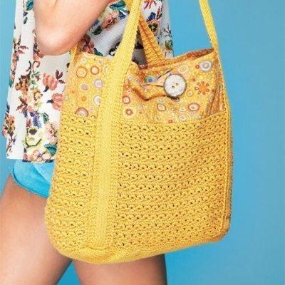 778a4d231193 ... Объемные пляжные вязаные сумки идеально подходят для долгих прогулок.  Особенно они станут незаменимым аксессуаром для