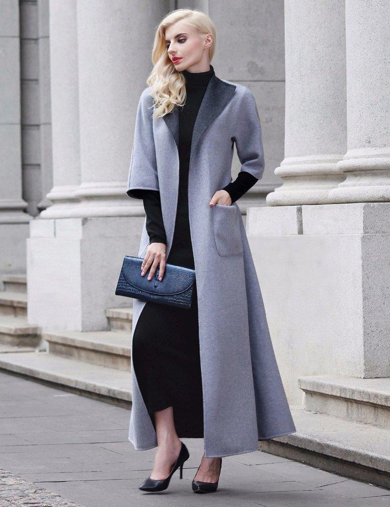 Элегантное пальто для женщины