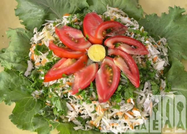 Салат рецепты простые в домашних условиях