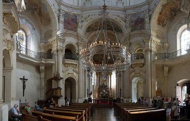 собор святого николая в праге внутри