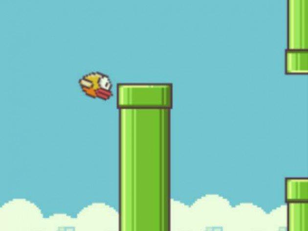 Игра летающая птичка через трубы